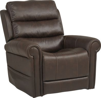Colson Street Brown Power Recliner