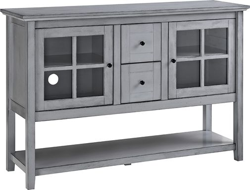 Columby Gray Buffet 52 in. Console Table