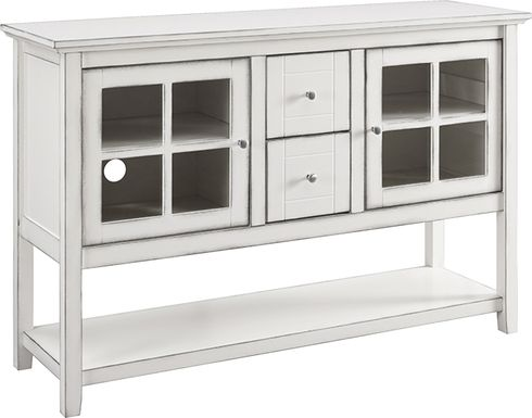 Columby Off-White Buffet 52 in. Console Table
