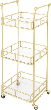 Colwyn Gold Bar Cart