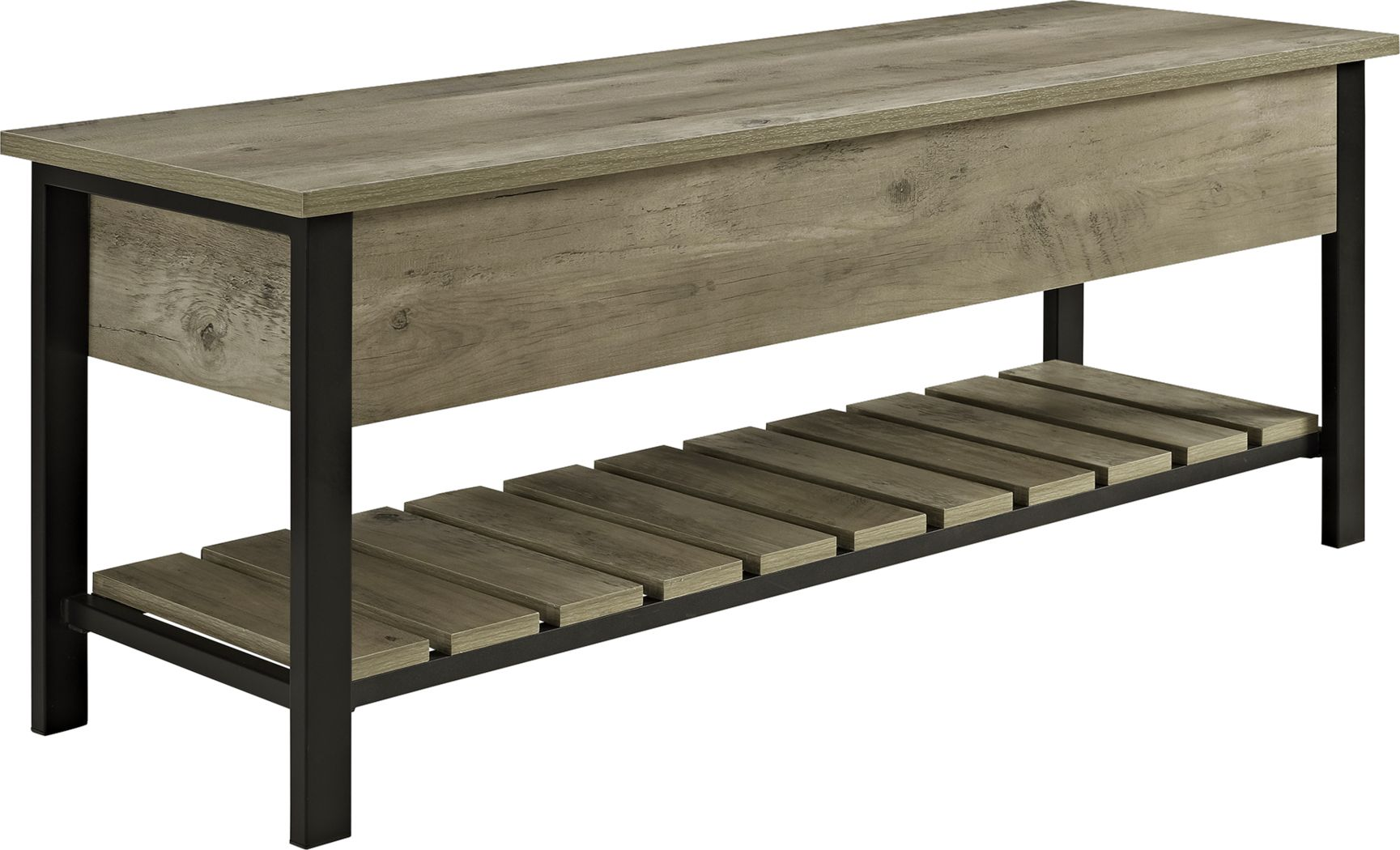 Commer Gray Bench