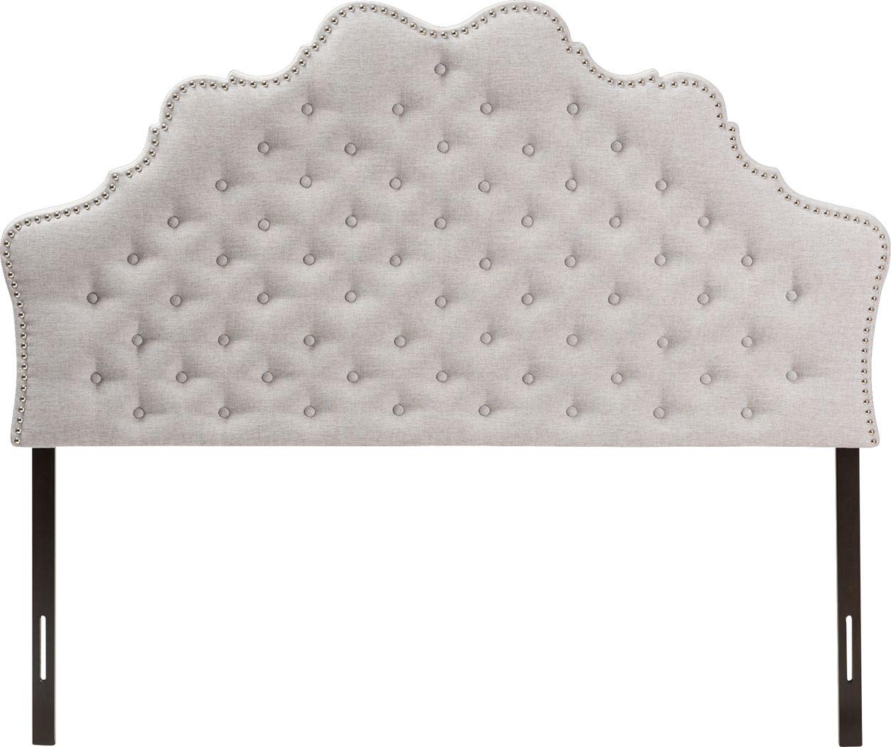 Conagra Gray King Upholstered Headboard