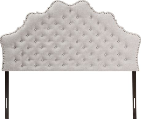 Conagra Gray King Upholstered Headboard