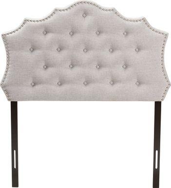 Conagra Gray Twin Upholstered Headboard