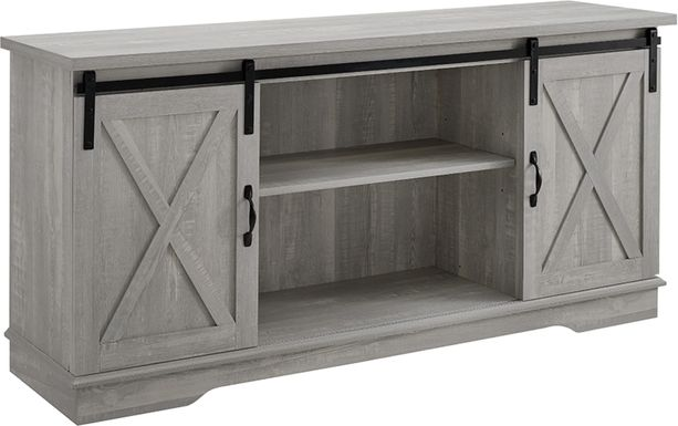 Coneflower Gray 58 in. Console