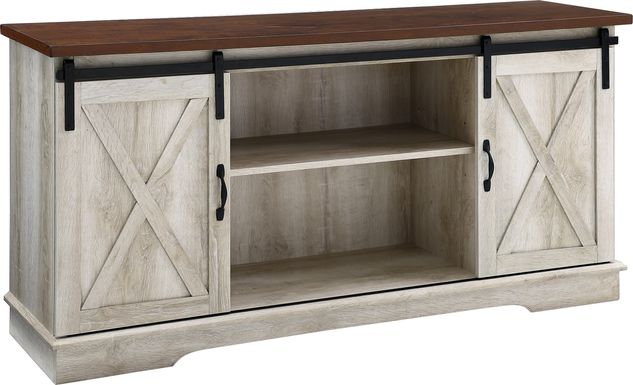 Coneflower Oak 58 in. Console