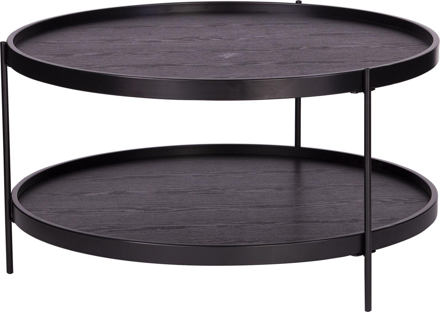 Coolfont Court Black Cocktail Table