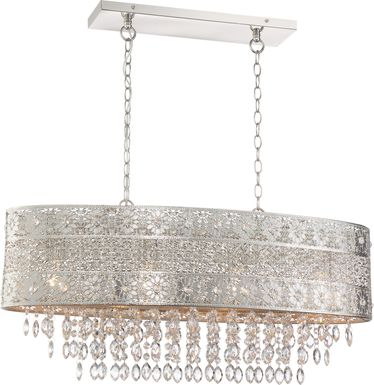Cooper Lane Nickel Chandelier