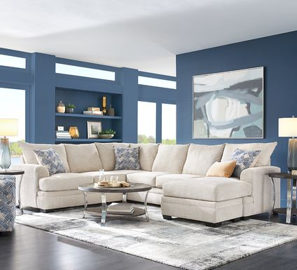 Copley Court Parchment 2 Pc Sectional