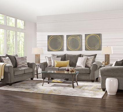Cordelia Brown 2 Pc Living Room