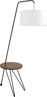 Cordusio Walnut Floor Lamp