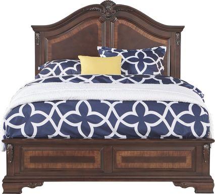 Cortinella Cherry 3 Pc King Panel Bed