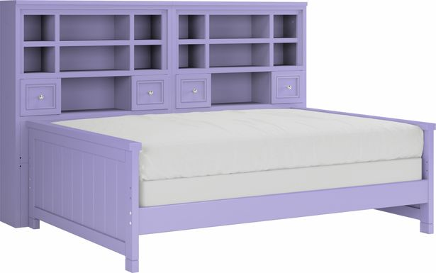 Cottage Colors Lavender 5 Pc Full Bookcase Daybed
