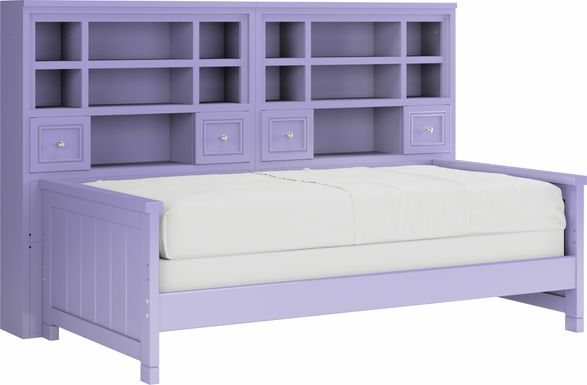 Cottage Colors Lavender 5 Pc Twin Bookcase Daybed