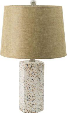 Cottonwood Trail Cream Lamp