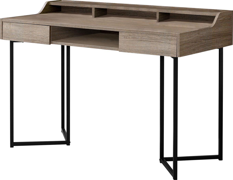 Cotulla Taupe Desk