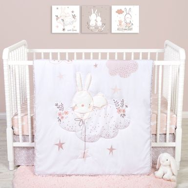 Counting Stars White 4 Pc Baby Bedding Set