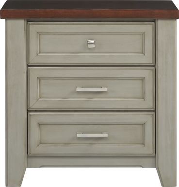Country Grove Gray Nightstand