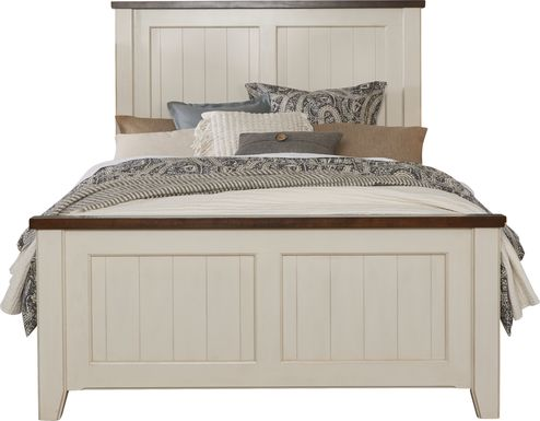 Country Grove White 3 Pc King Panel Bed
