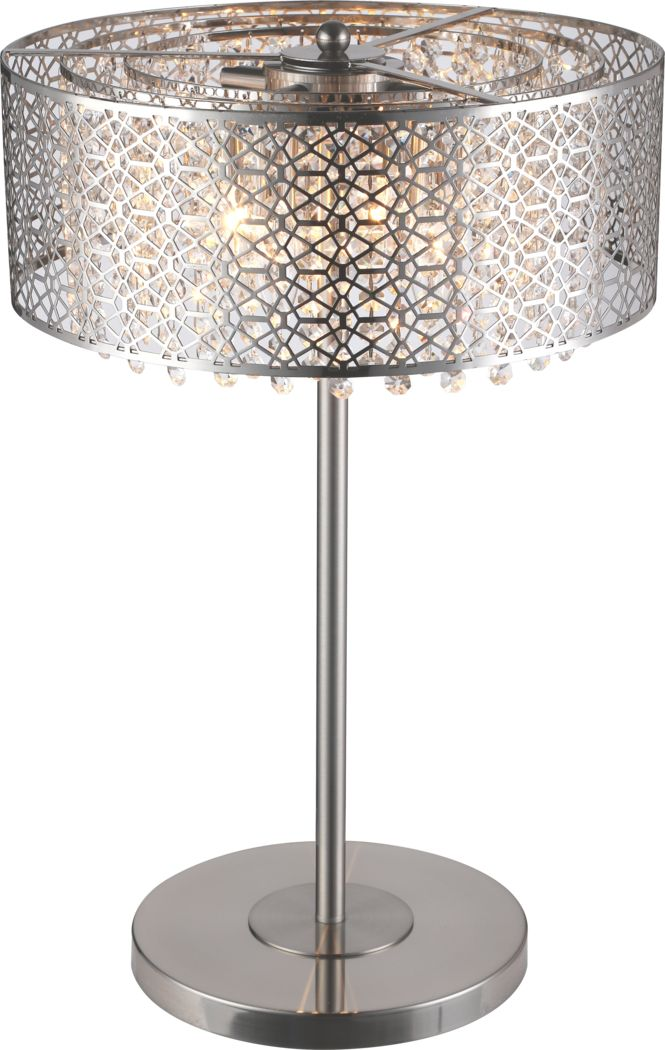 Courances Silver Lamp