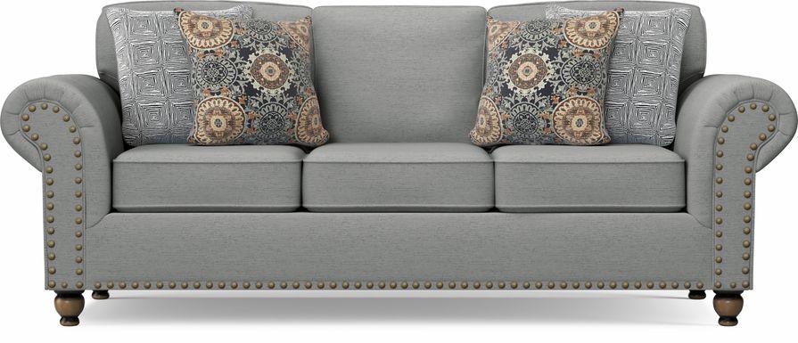 Court Street Gray Sofa