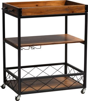 Cranbrook Oak Bar Cart