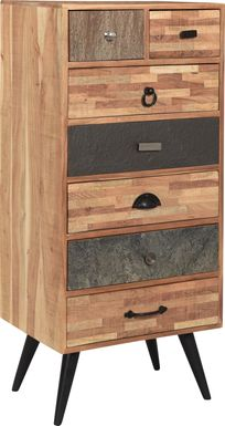 Cranmore Brown Tall Accent Cabinet