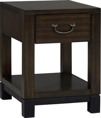 Cranwell Walnut Side Table