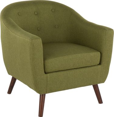 Cravenridge Green Accent Chair