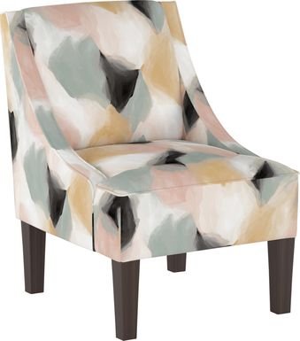 Creamy Hues Cream Accent Chair