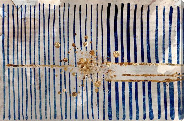 Creative Breakthrough Blue Artwork