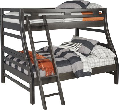 Creekside Charcoal Twin/Full Bunk Bed