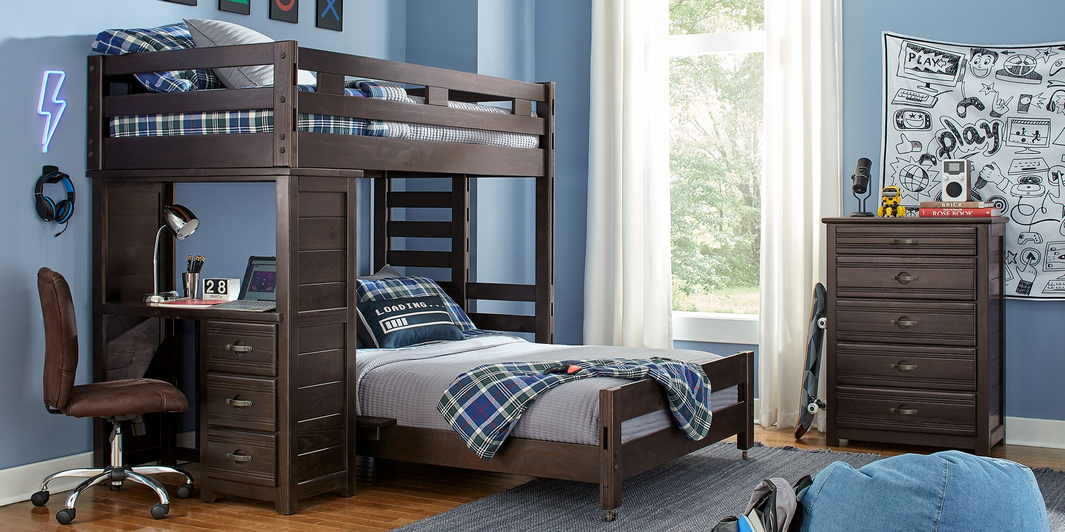 Picture of: Dorm Room Student Bunk Beds