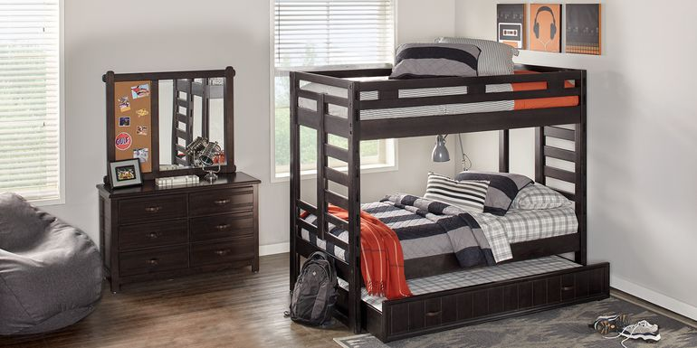 Creekside Charcoal Twin/Twin Bunk Bed