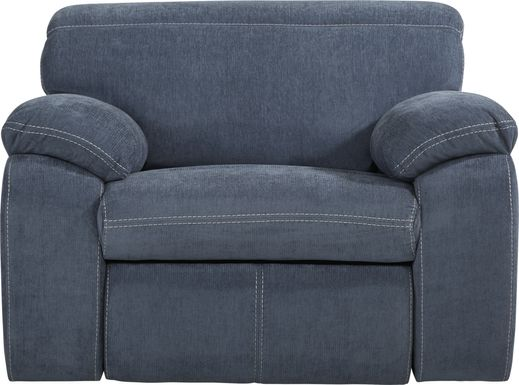 Crescent Place Navy Power Recliner