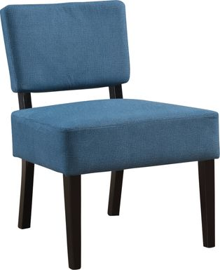 Crestover Blue Accent Chair