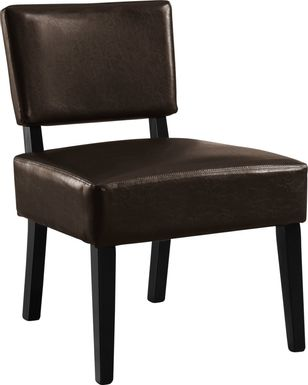 Crestover Chocolate Accent Chair