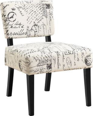 Crestover Ivory Accent Chair