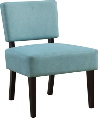 Crestover Teal Accent Chair