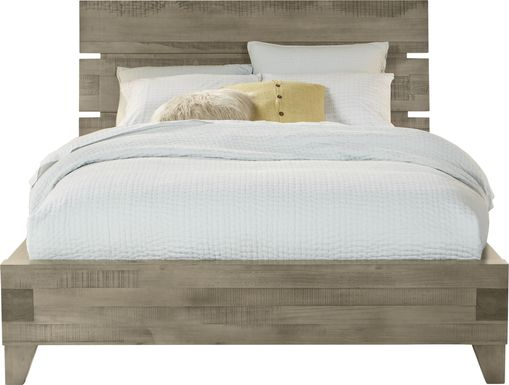 Crestwood Creek Gray 3 Pc King Panel Bed