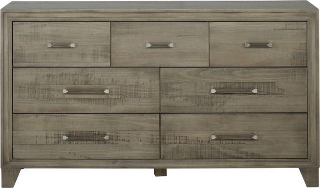 Crestwood Creek Gray Dresser