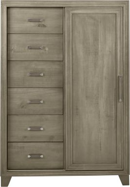 Crestwood Creek Gray Gentleman's Chest