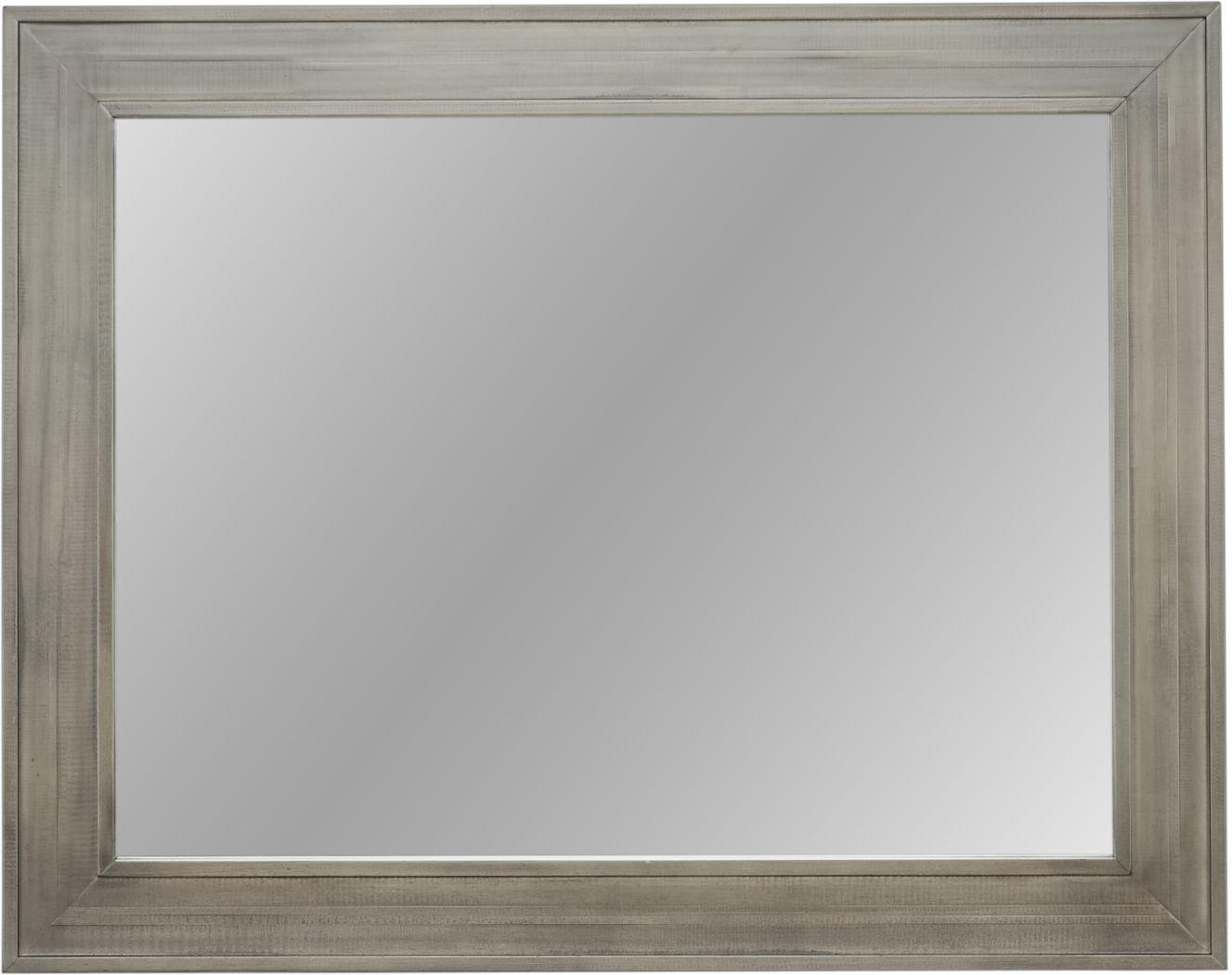 Crestwood Creek Gray Mirror
