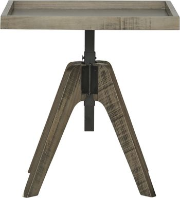 Crestwood Creek Gray Night Table