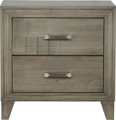 Crestwood Creek Gray Nightstand