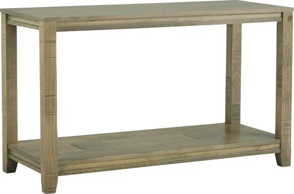 Crestwood Creek Gray Sofa Table