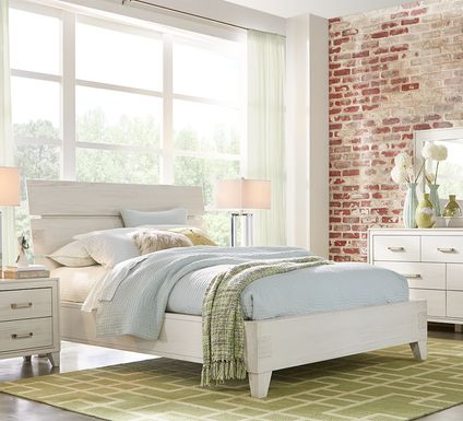 Crestwood Creek Ivory 5 Pc King Panel Bedroom