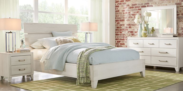 Crestwood Creek Ivory 5 Pc Queen Panel Bedroom