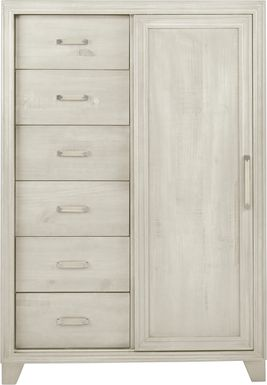 Crestwood Creek Ivory Gentleman's Chest