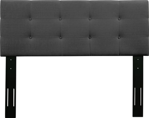 Criswell Dark Gray King Upholstered Headboard